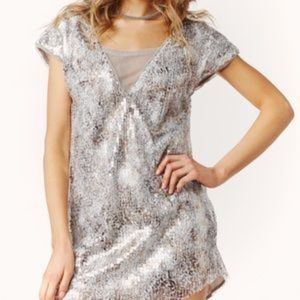Free People Shattered Glass Dress
